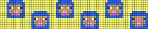 Alpha pattern #74854