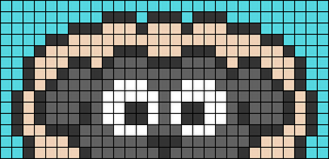 Alpha pattern #74862