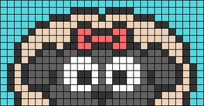 Alpha pattern #74863