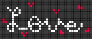 Alpha pattern #74872