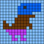 Alpha pattern #74883