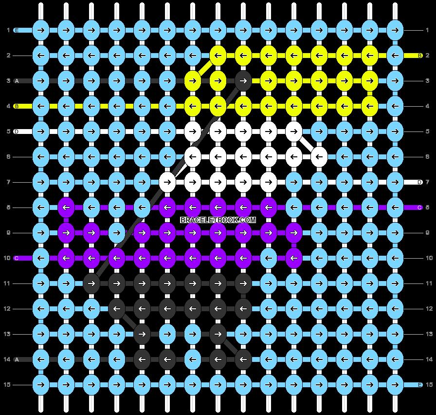 Alpha pattern #74885 pattern
