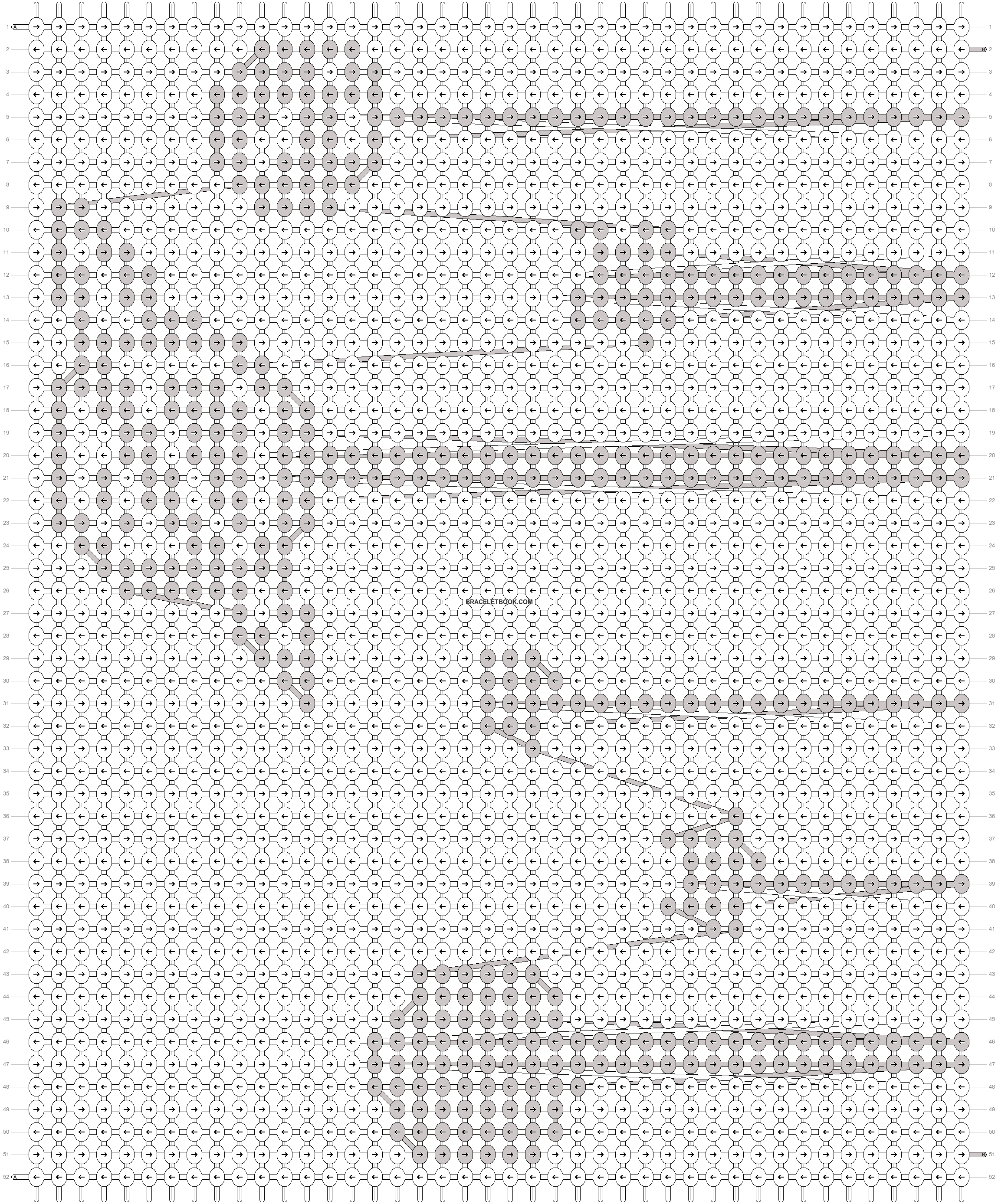 Alpha pattern #74922 pattern