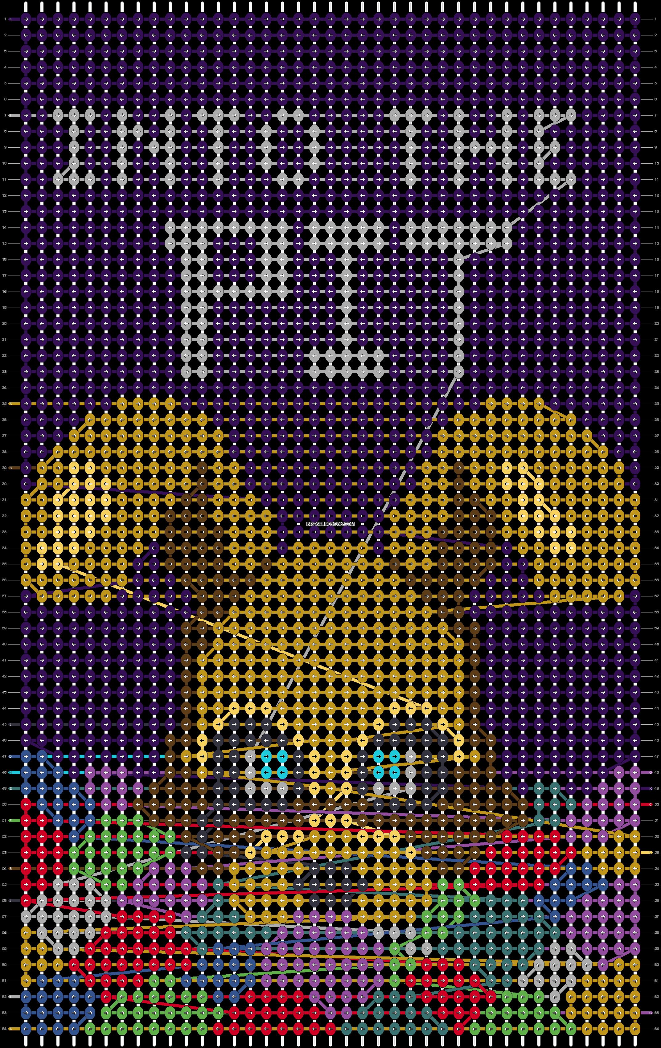 Alpha pattern #74932 pattern