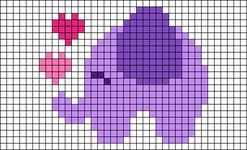 Alpha pattern #74953