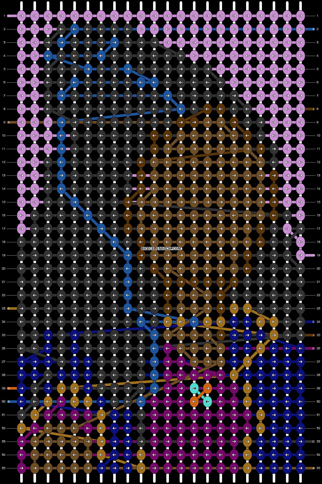 Alpha pattern #74963 pattern
