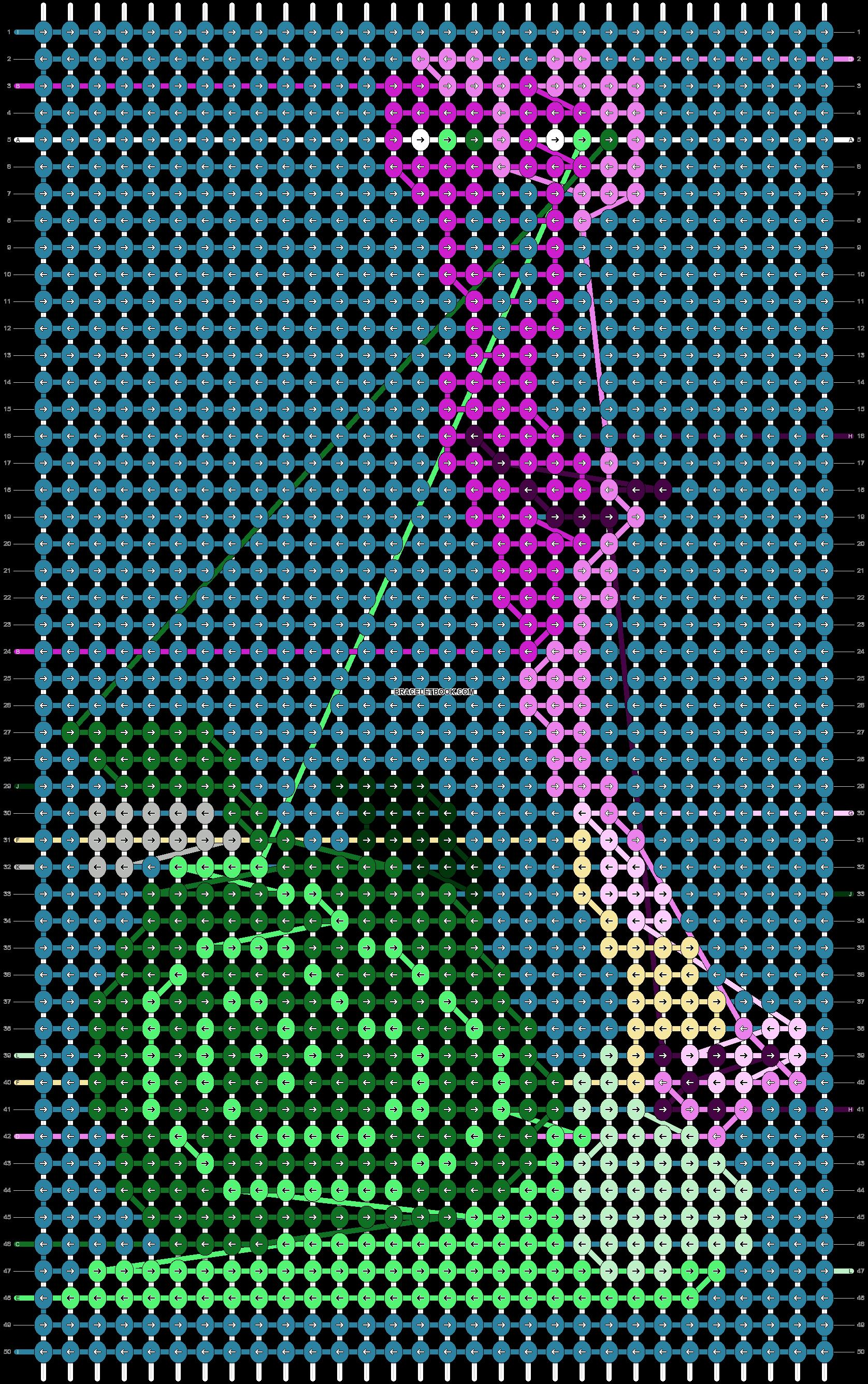 Alpha pattern #74964 pattern