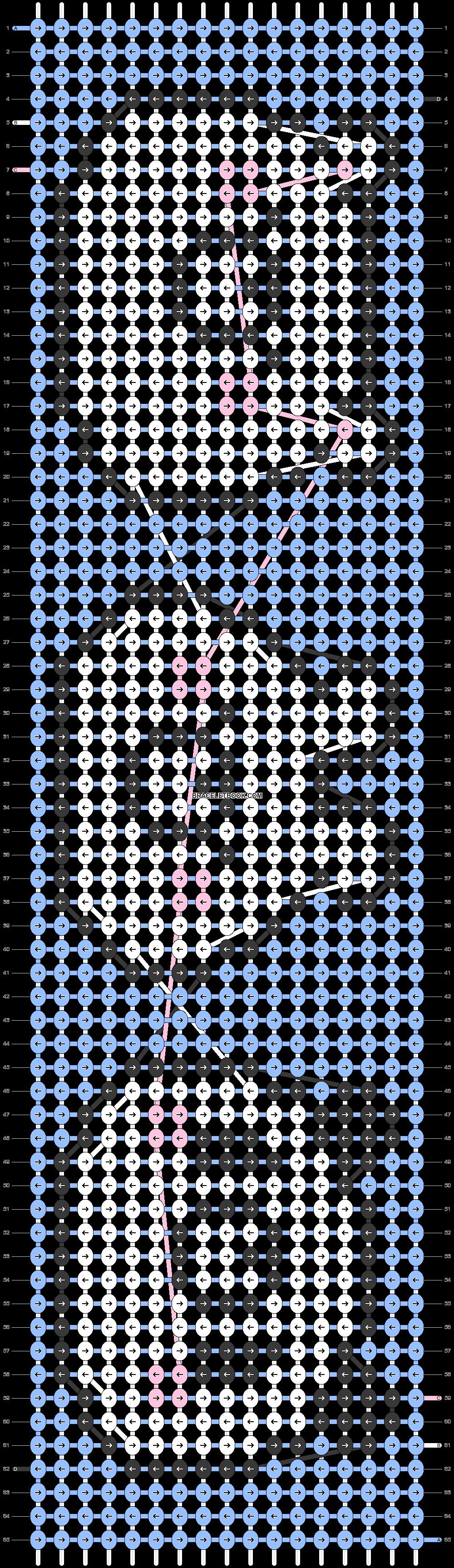 Alpha pattern #74972 pattern