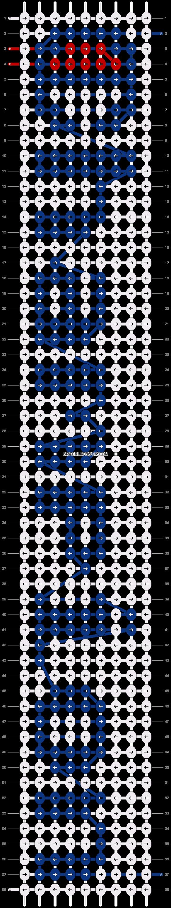 Alpha pattern #75010 pattern