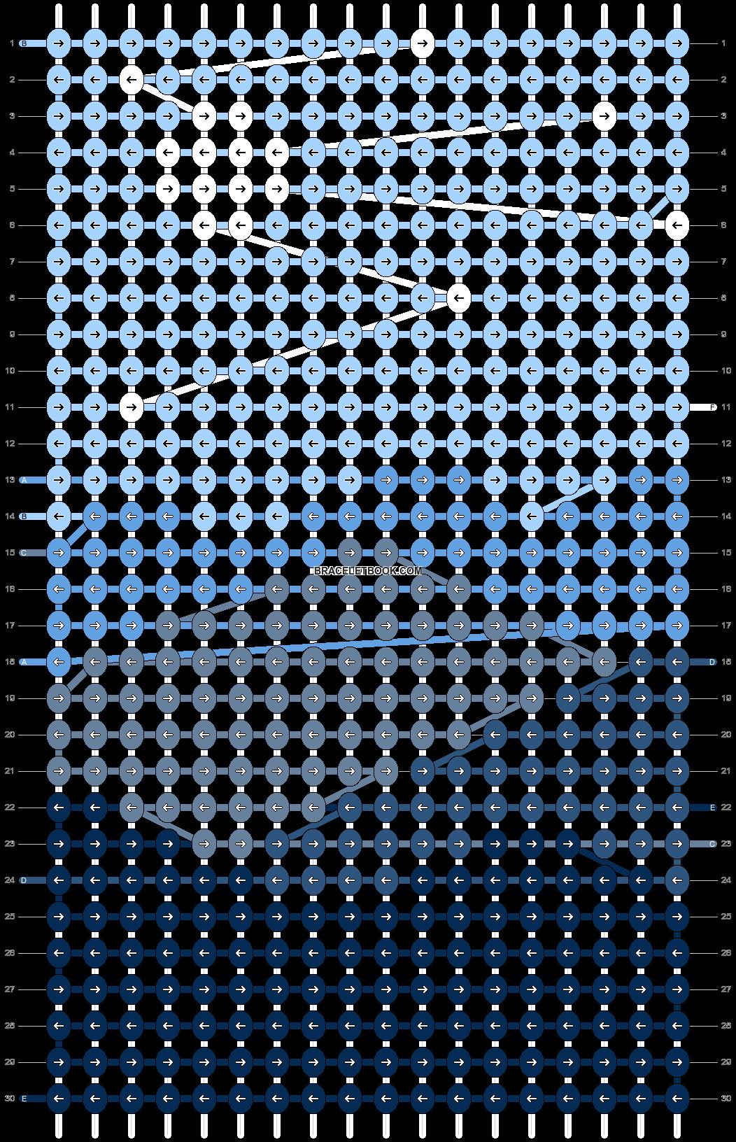 Alpha pattern #75012 pattern
