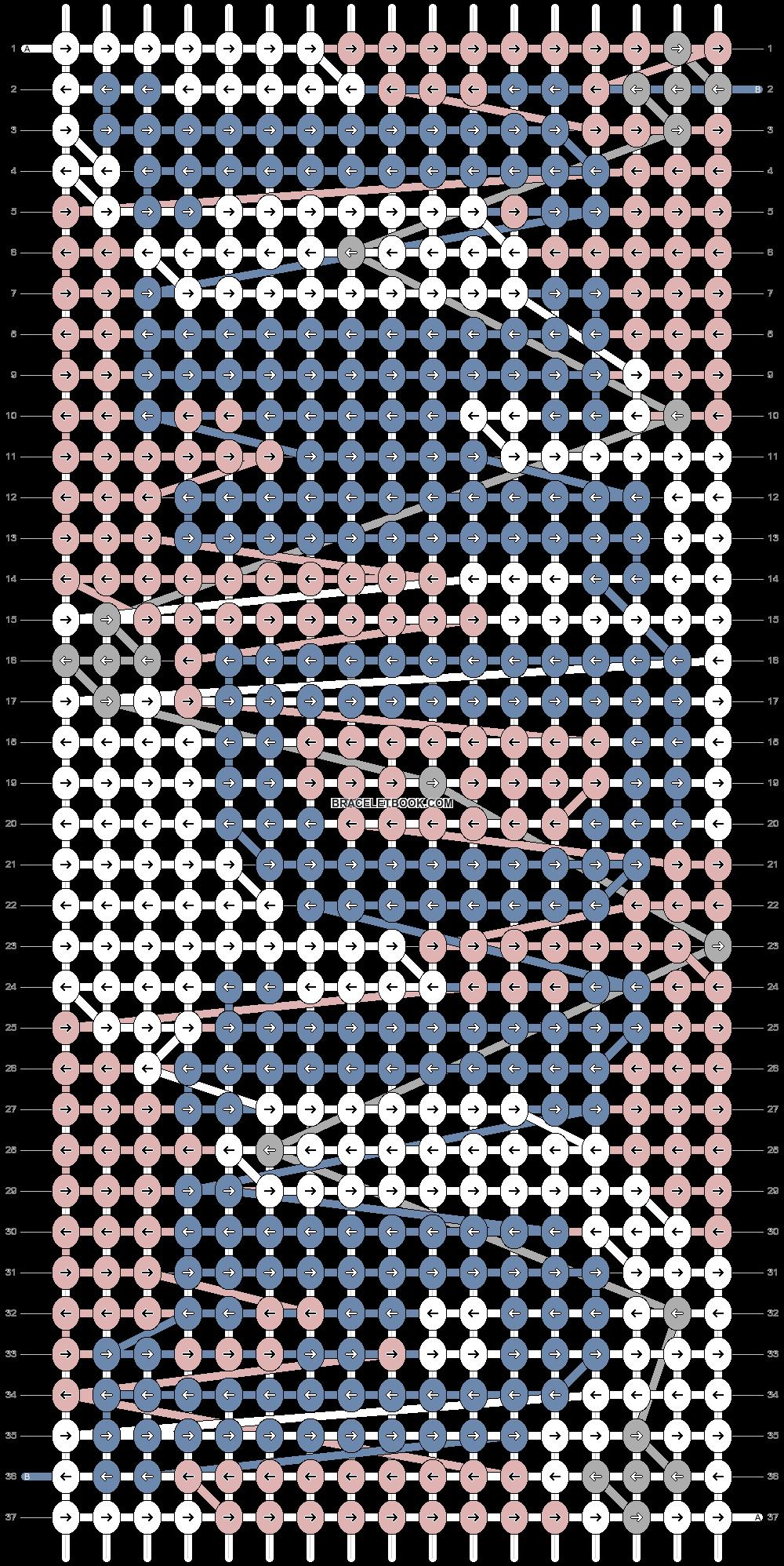 Alpha pattern #75078 pattern