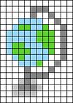 Alpha pattern #75085