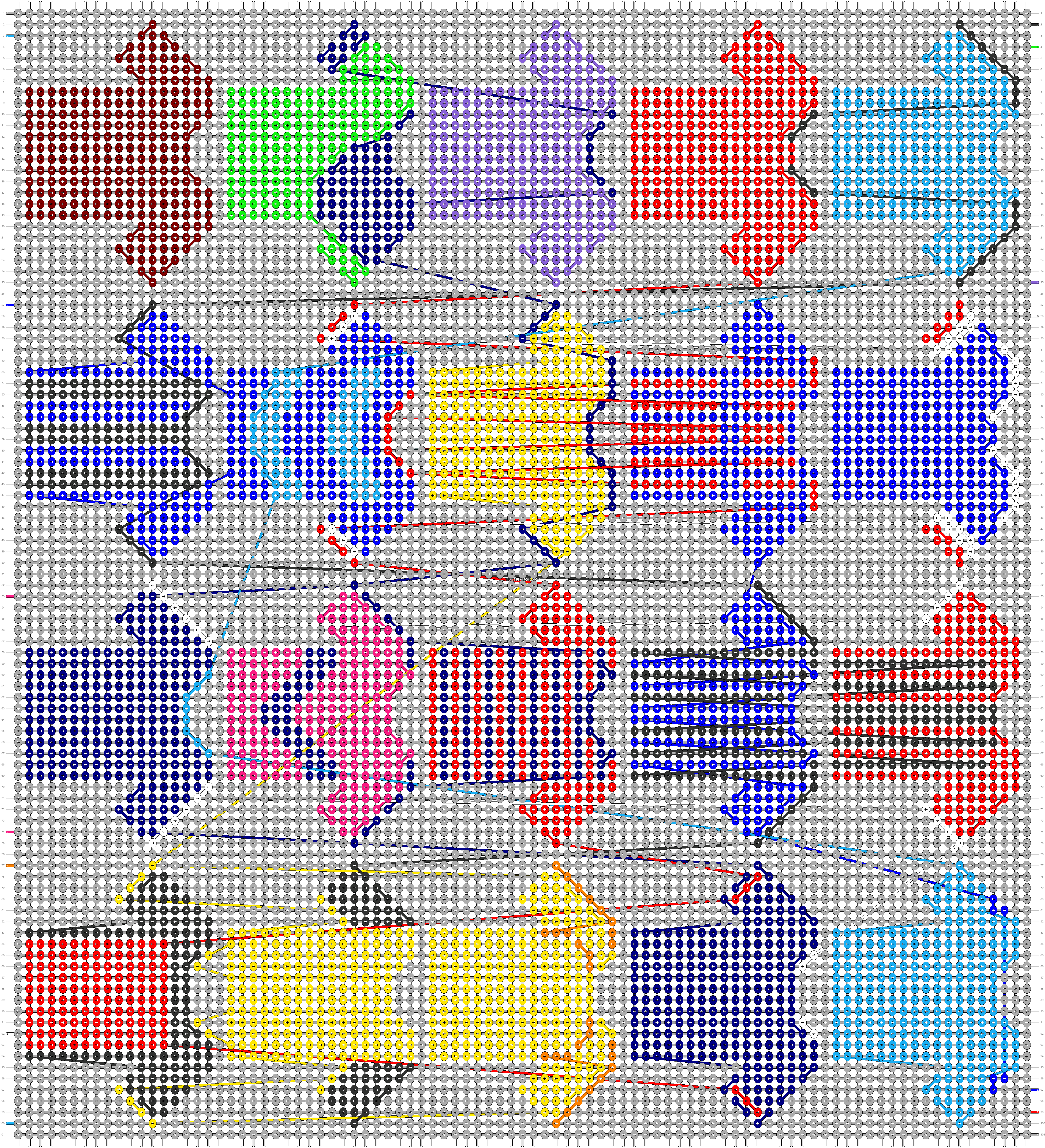 Alpha pattern #75088 pattern