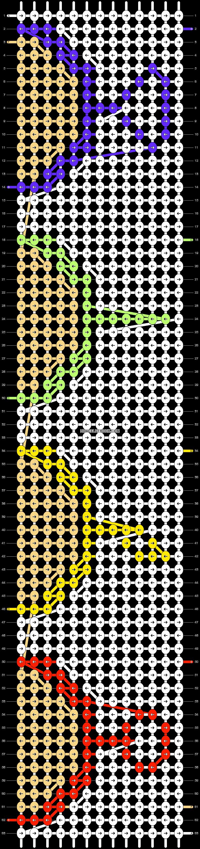 Alpha pattern #75109 pattern