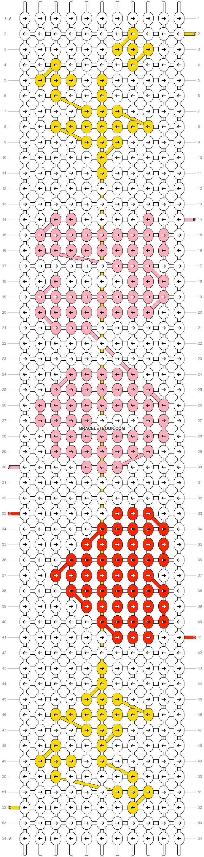 Alpha pattern #75110 pattern