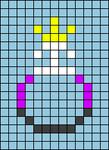 Alpha pattern #75169