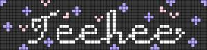 Alpha pattern #75195