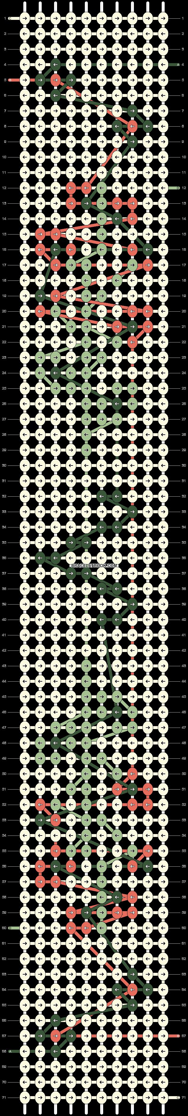 Alpha pattern #75206 pattern