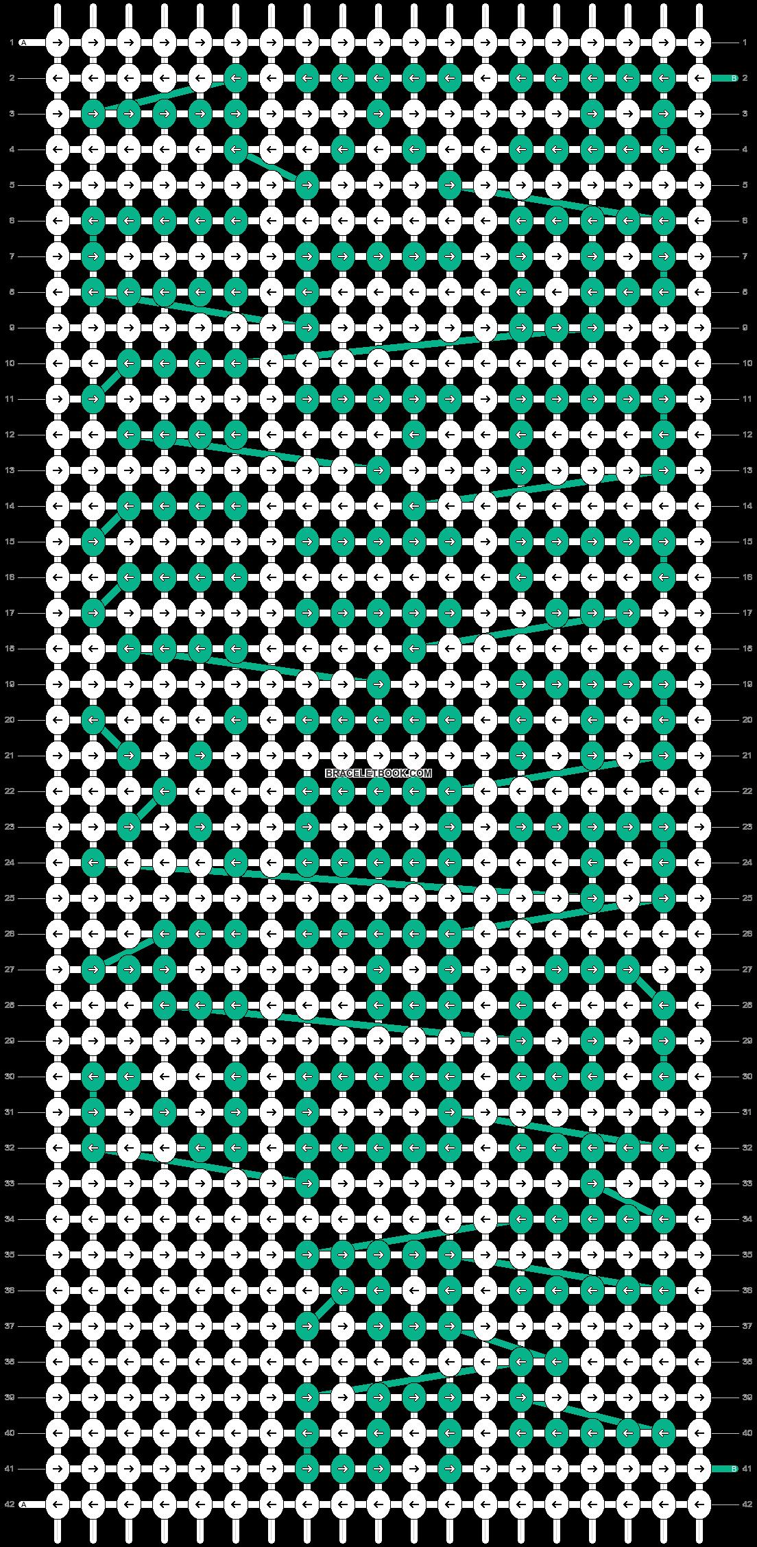 Alpha pattern #75220 pattern