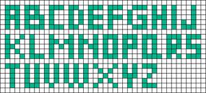 Alpha pattern #75220