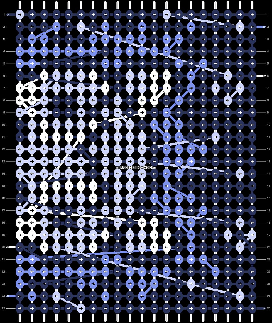 Alpha pattern #75232 pattern