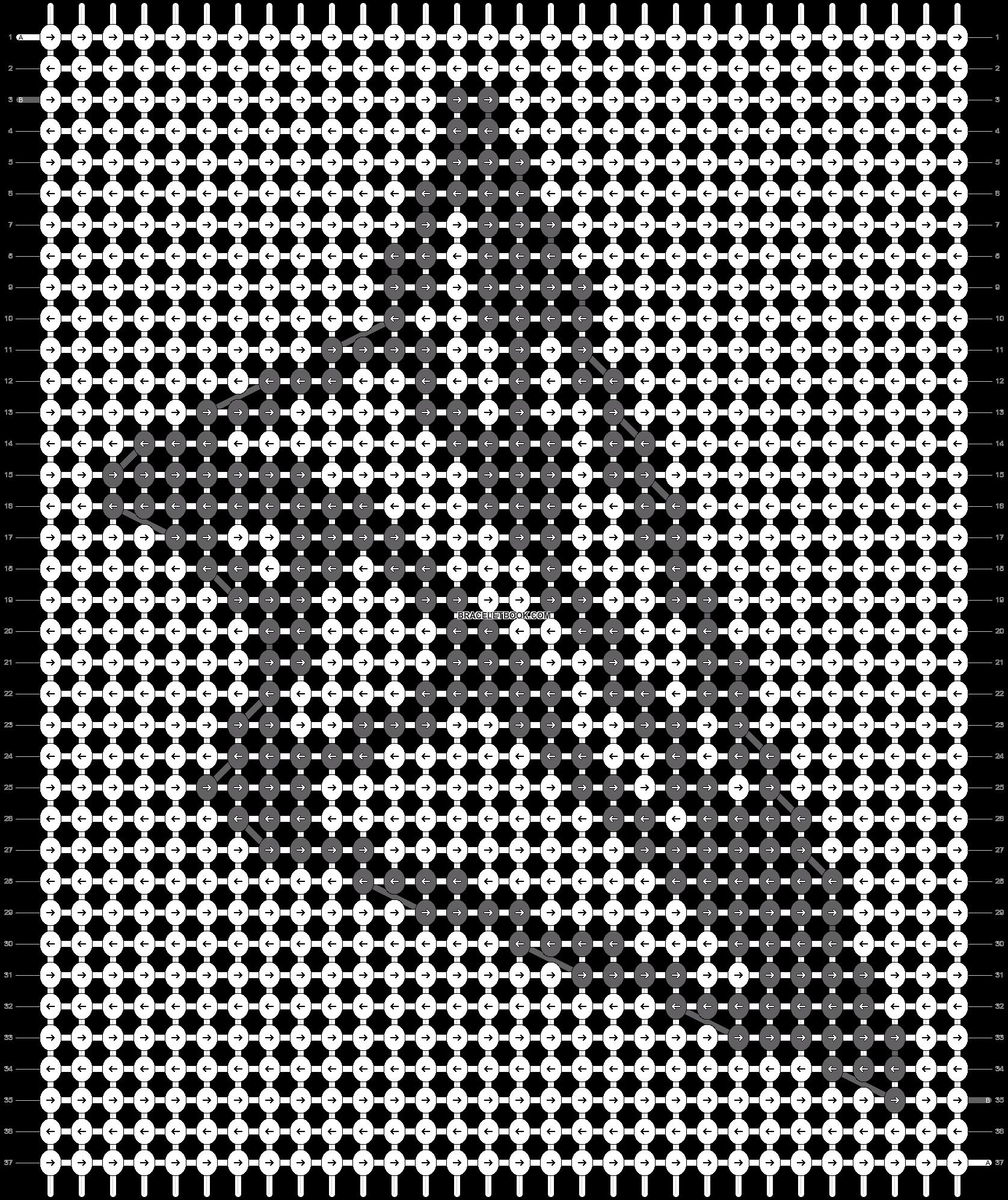 Alpha pattern #75236 pattern