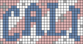 Alpha pattern #75256