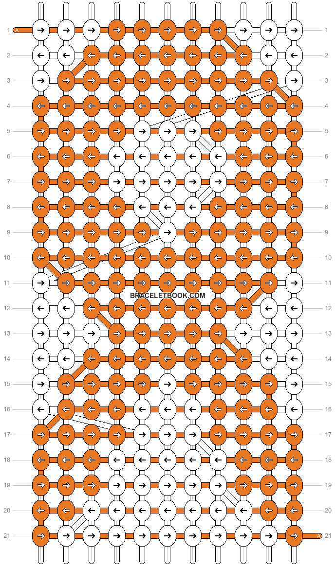 Alpha pattern #75258 pattern