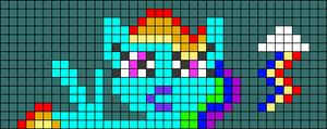 Alpha pattern #75259