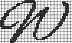 Alpha pattern #75283