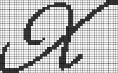 Alpha pattern #75284