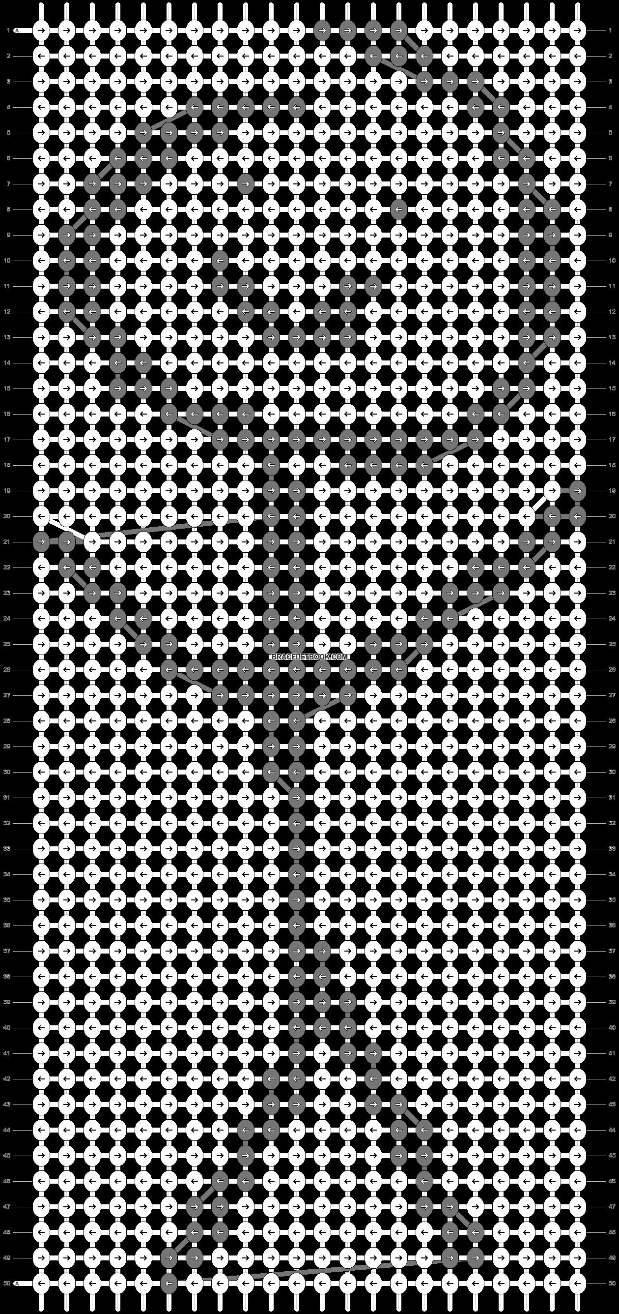 Alpha pattern #75335 pattern