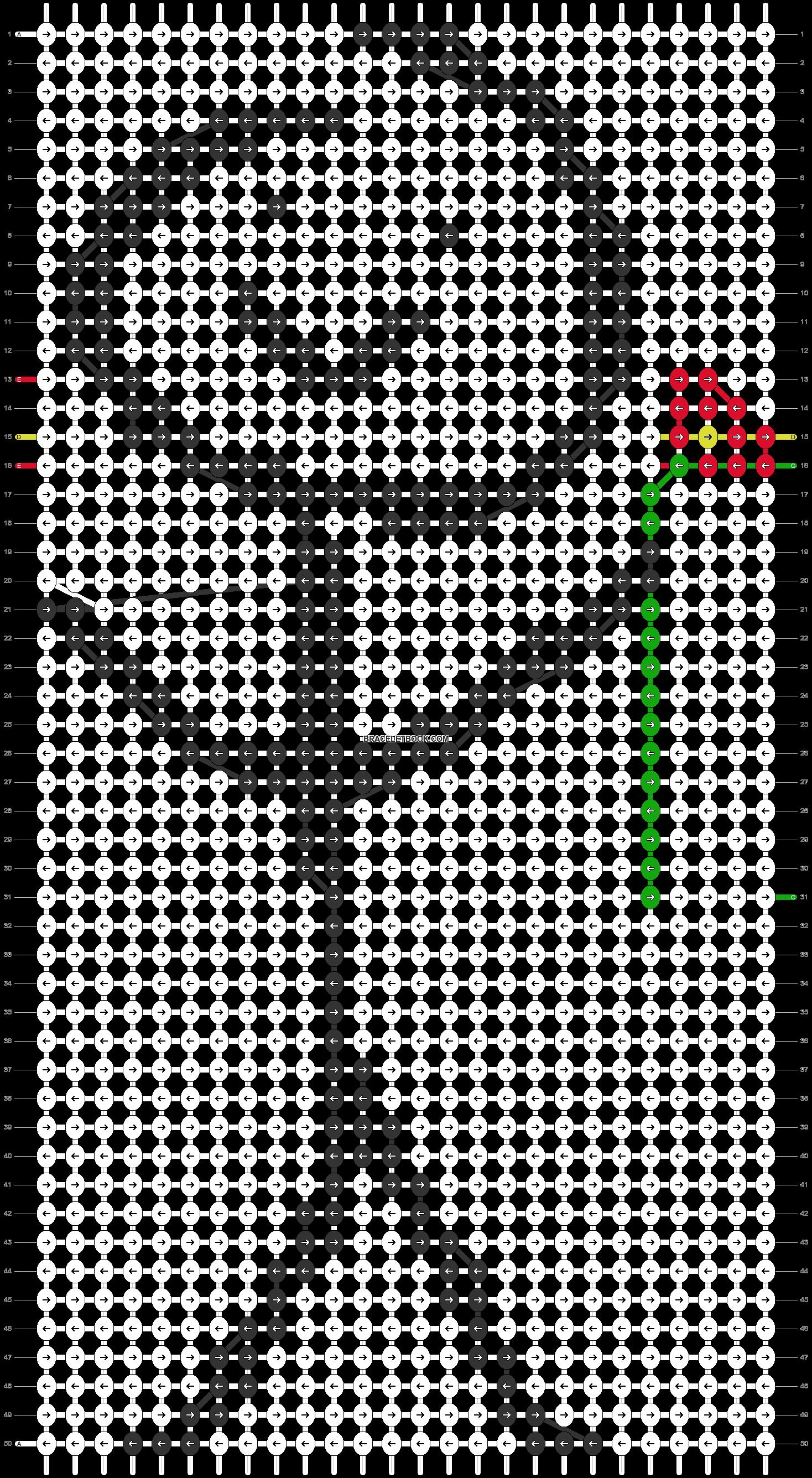 Alpha pattern #75336 pattern