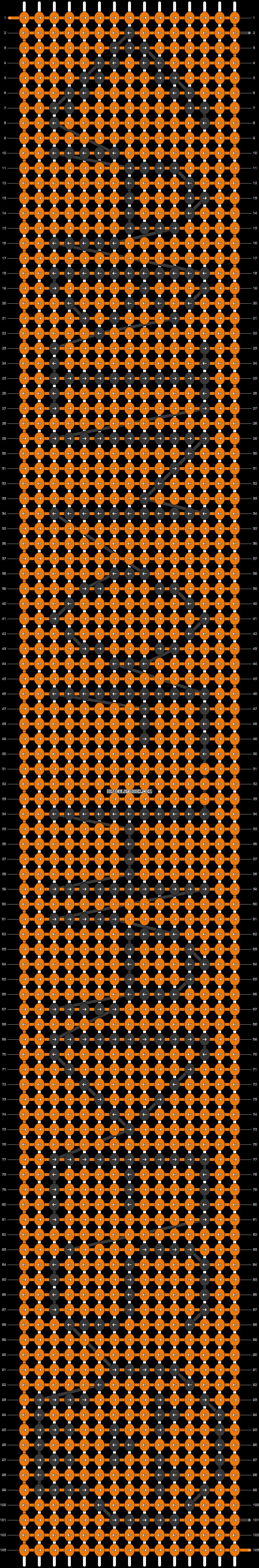 Alpha pattern #75373 pattern