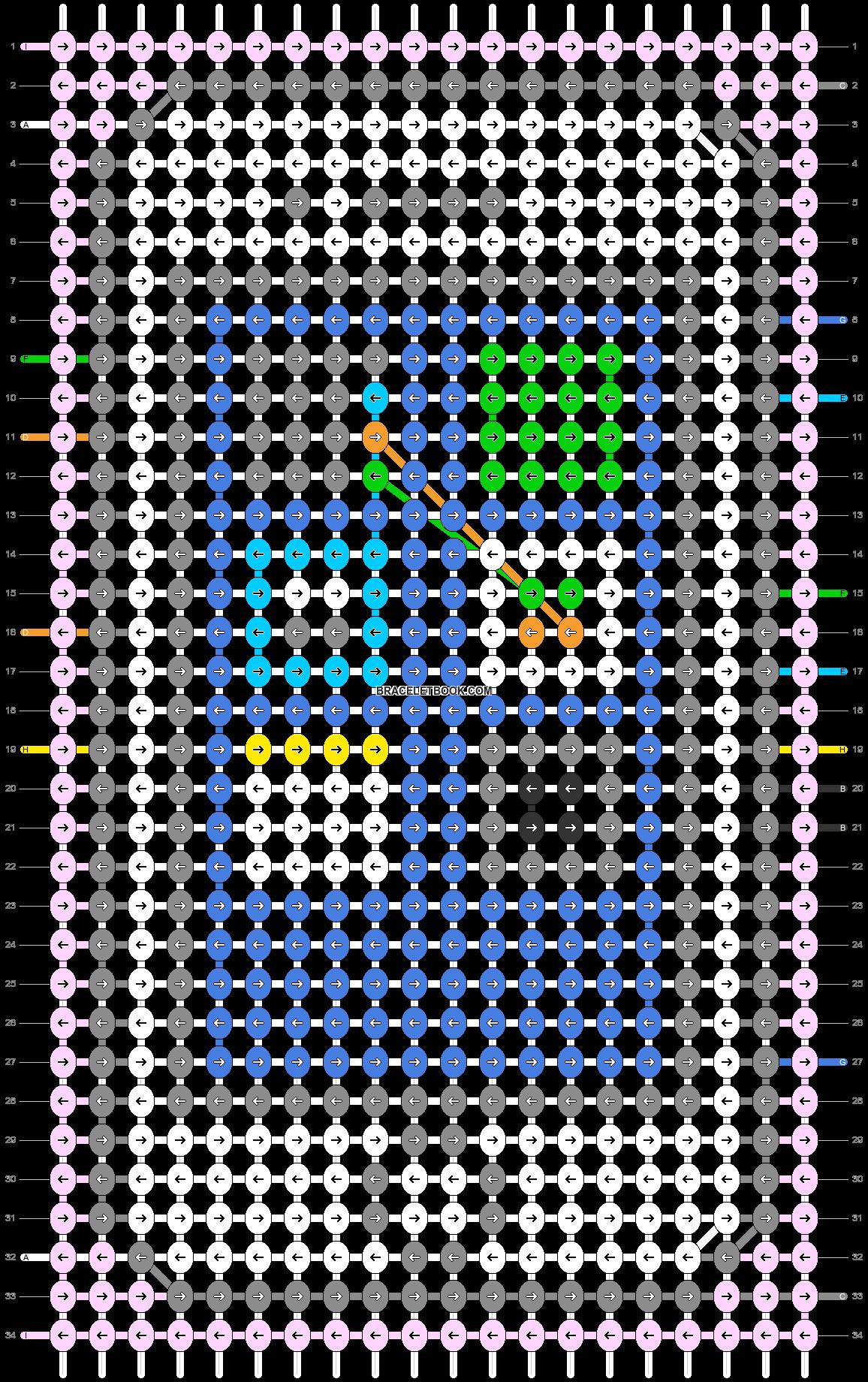 Alpha pattern #75407 pattern