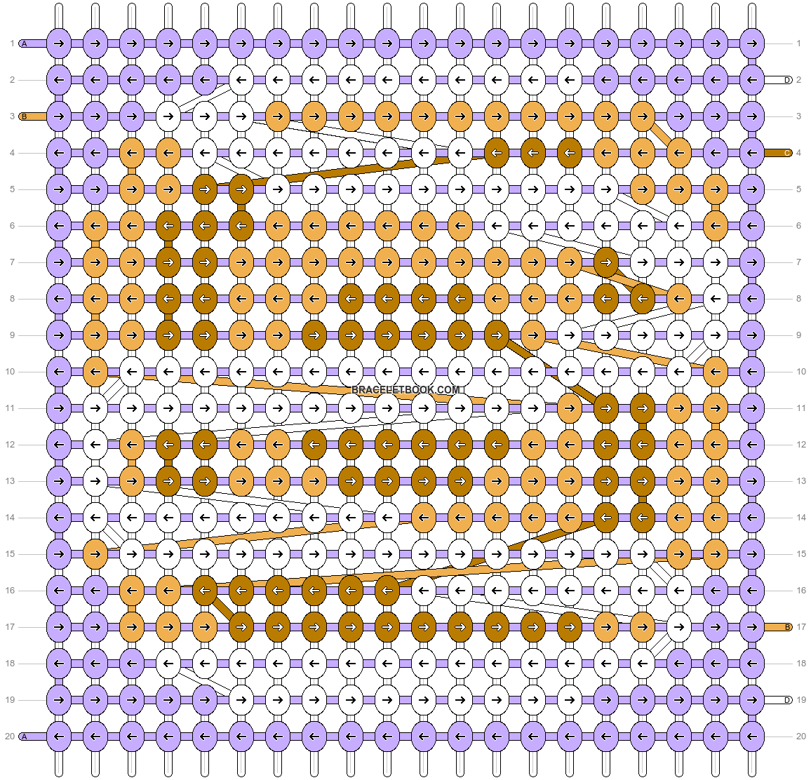 Alpha pattern #75425 pattern