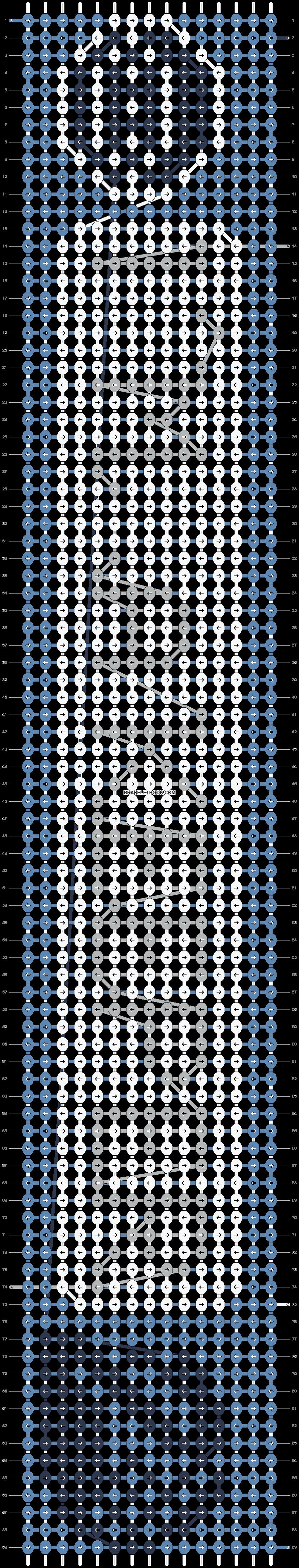 Alpha pattern #75442 pattern
