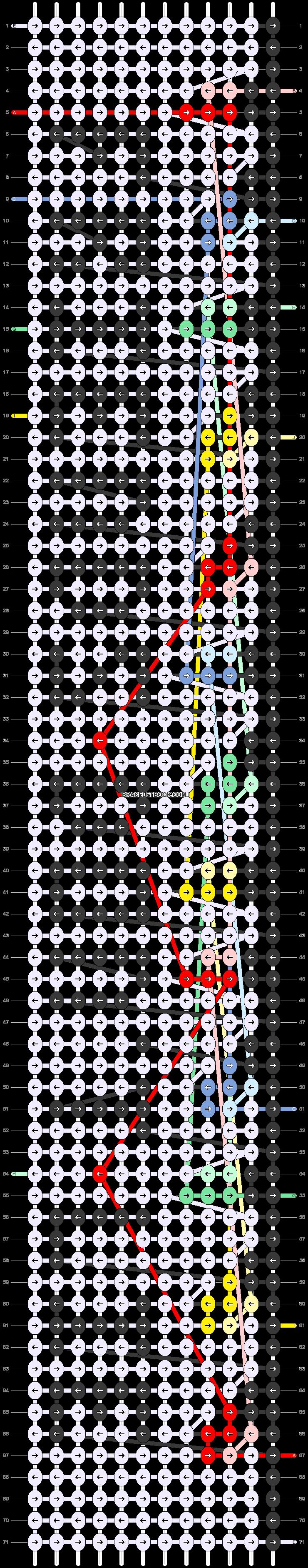 Alpha pattern #75497 pattern
