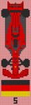 Alpha pattern #75501