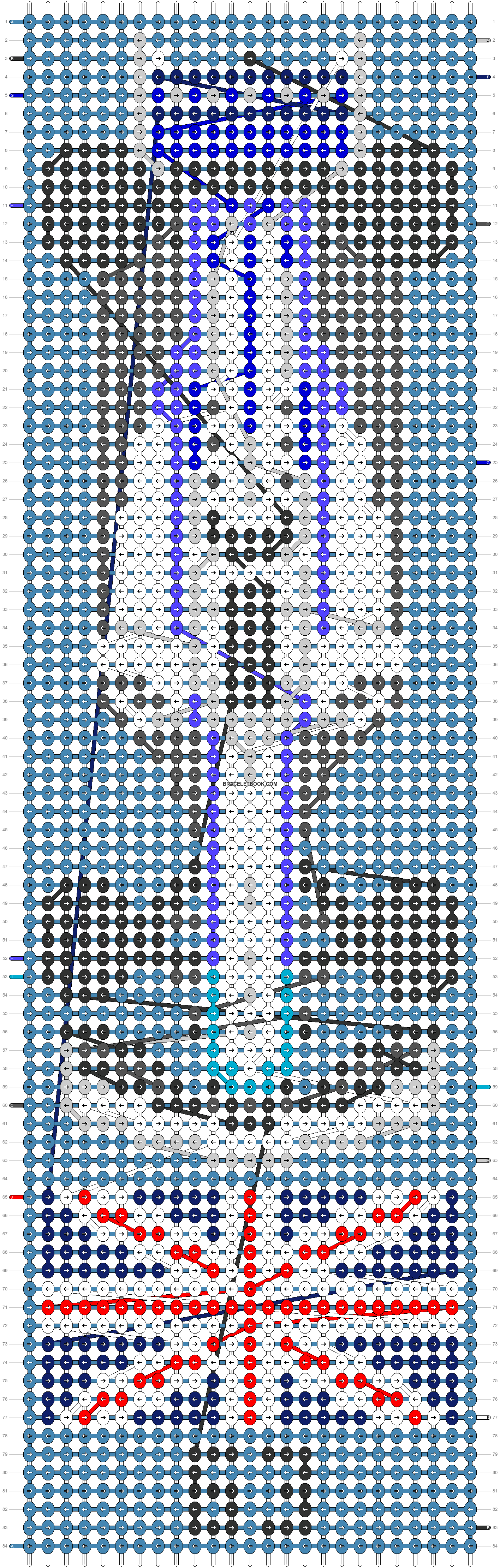 Alpha pattern #75517 pattern