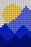 Alpha pattern #75522