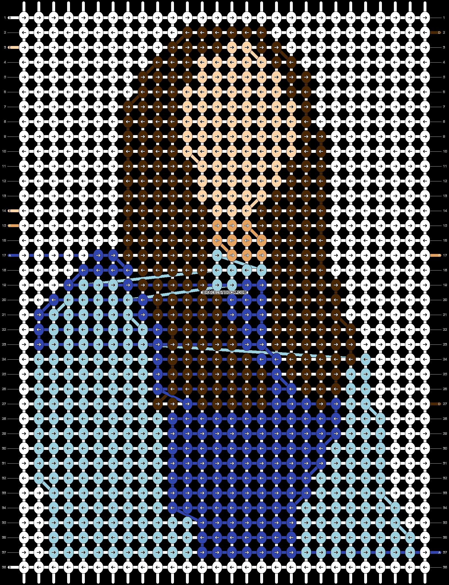 Alpha pattern #75536 pattern