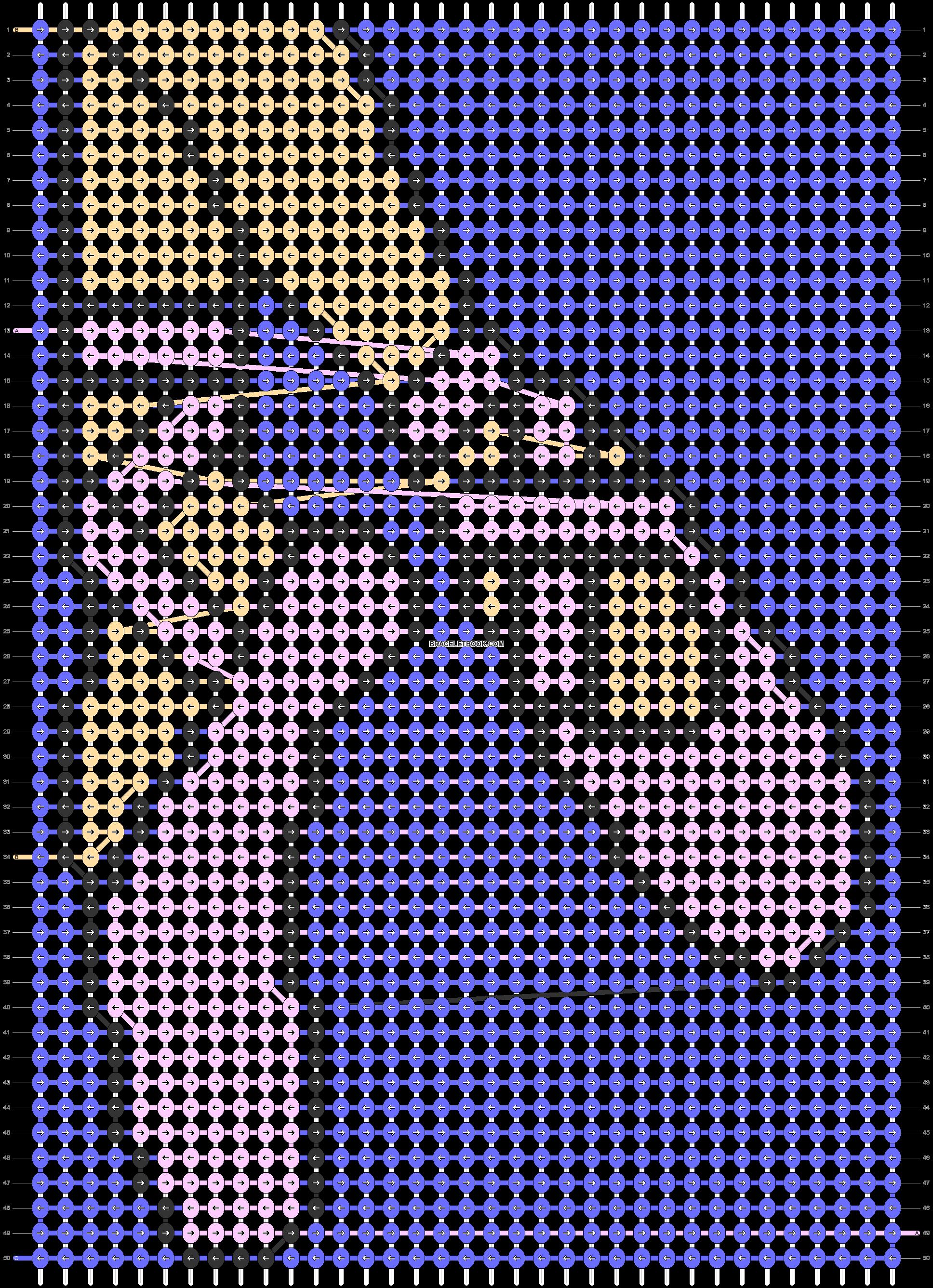Alpha pattern #75549 pattern