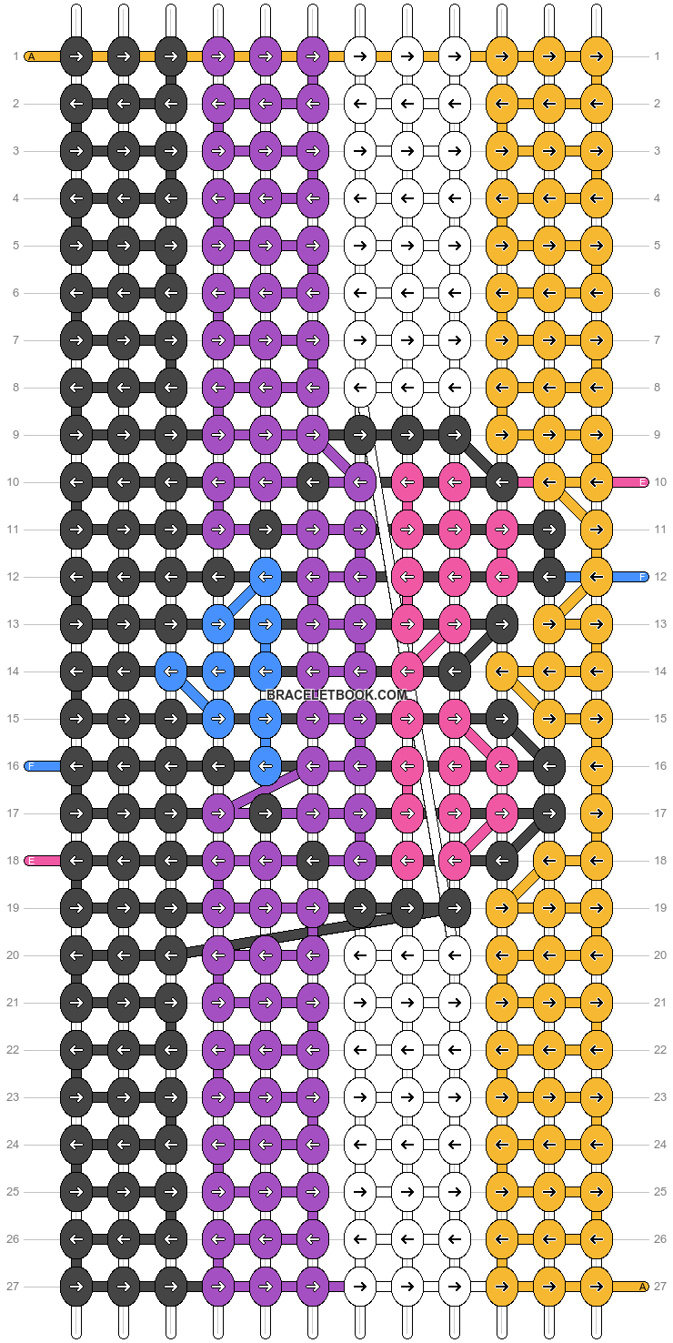 Alpha pattern #75582 pattern