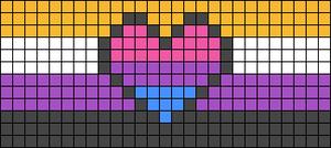 Alpha pattern #75582