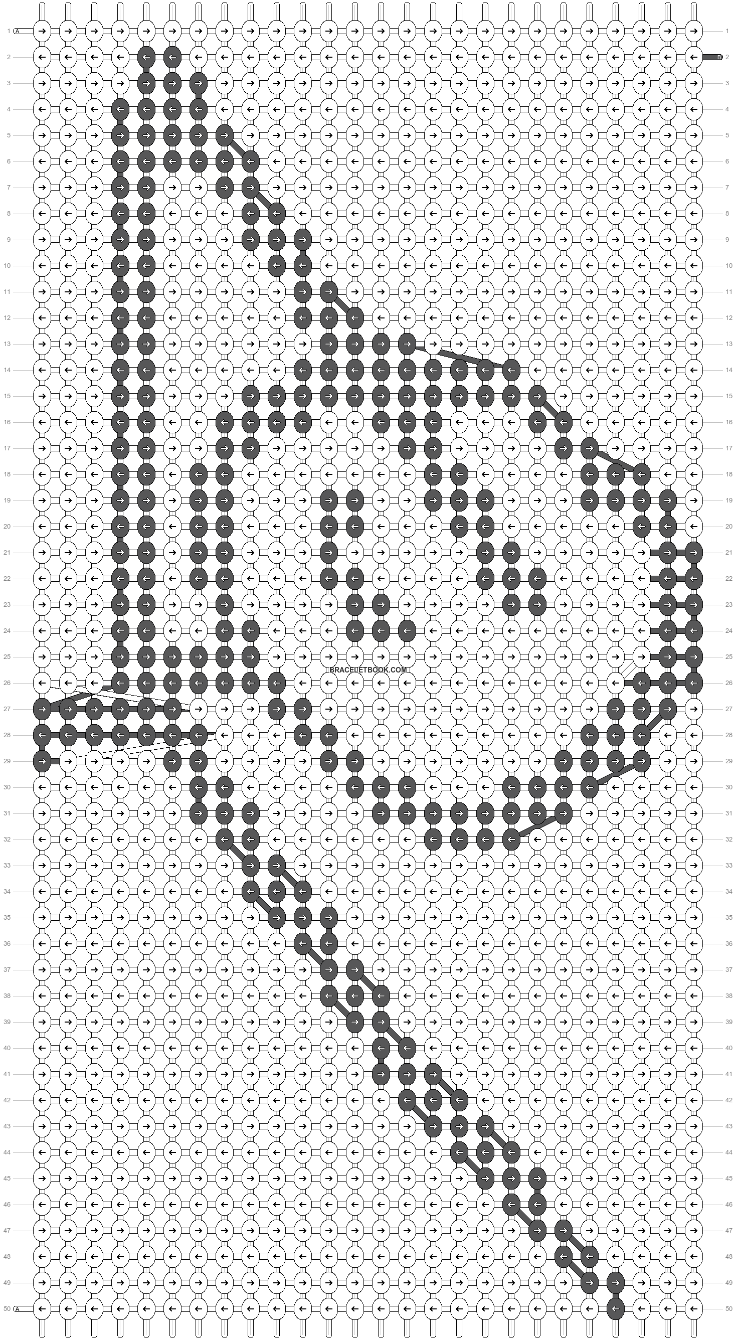Alpha pattern #75624 pattern
