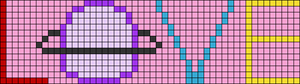 Alpha pattern #75628