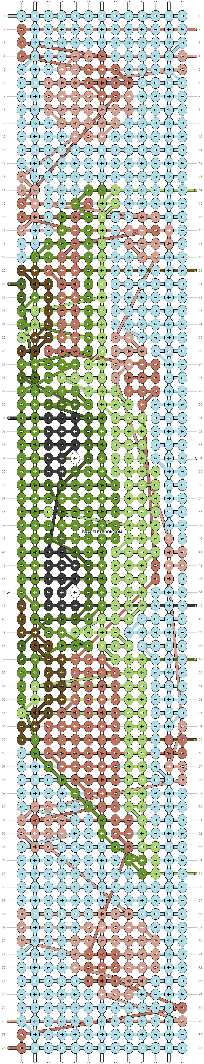 Alpha pattern #75629 pattern