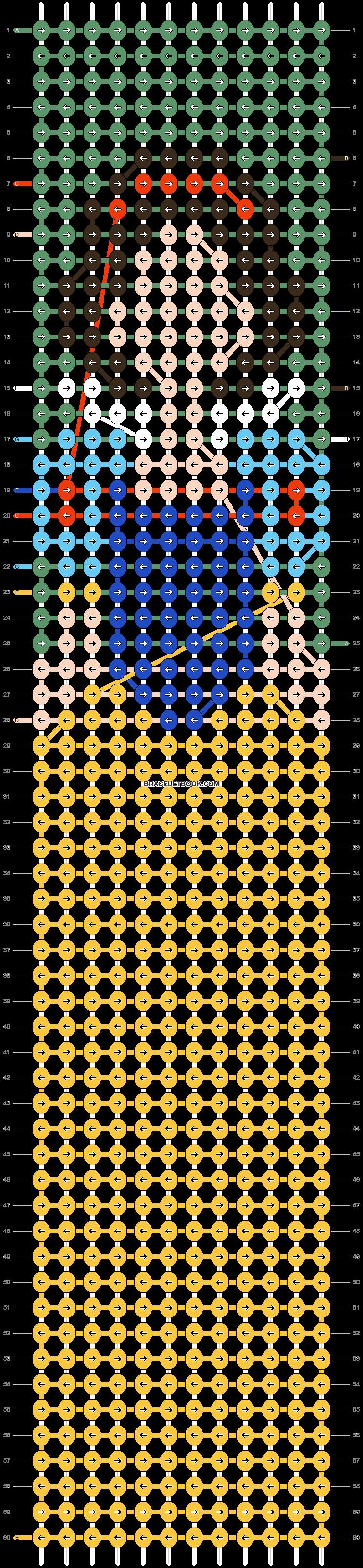 Alpha pattern #75651 pattern