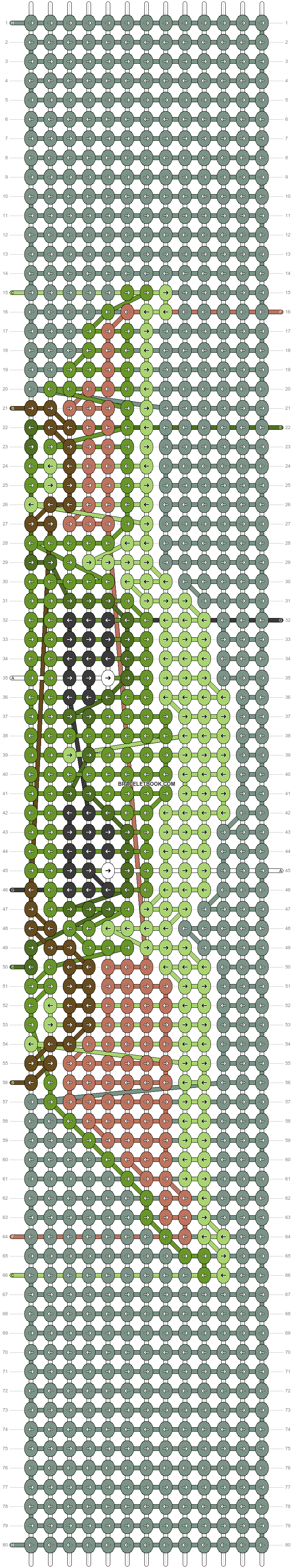 Alpha pattern #75652 pattern